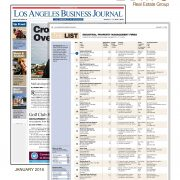 Los Angeles Business Journal names Unire Group to The List