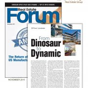 Real Estate Forum - From Dinosaur to Dynamic